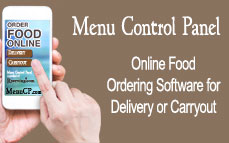 MenuCP - Online Food Ordering Software