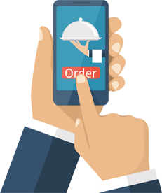 Online Ordering for Mobile Devices